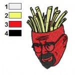 Aqua Teen Hunger Force 01 Embroidery Design
