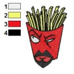 Aqua Teen Hunger Force 02 Embroidery Design