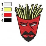 Aqua Teen Hunger Force 03 Embroidery Design