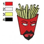 Aqua Teen Hunger Force 04 Embroidery Design