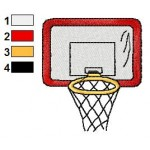 Basketball Snoopy 57 Embroidery Design