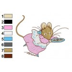 Beatrix Potter 01 Embroidery Design