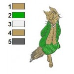 Beatrix Potter 04 Embroidery Design
