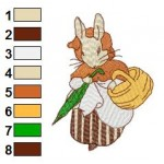 Beatrix Potter 06 Embroidery Design