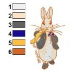 Beatrix Potter 09 Embroidery Design