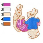 Beatrix Potter 12 Embroidery Design