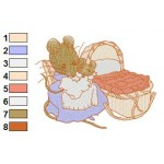 Beatrix Potter 30 Embroidery Design