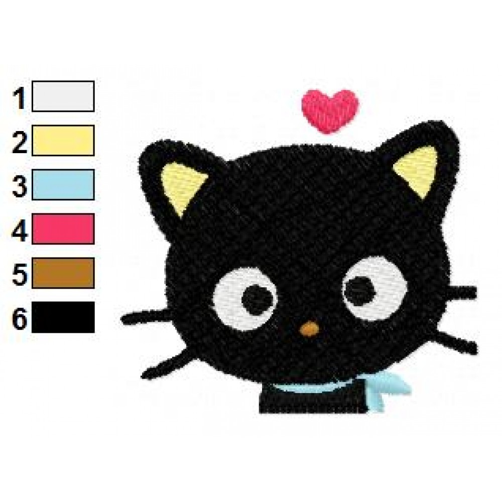 Cute Chococat Embroidery Design  Cute Chococat E...
