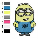 Despicable Me Minions 03 Embroidery Design