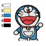 Doraemon 01 Embroidery Design