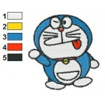 Doraemon 04 Embroidery Design