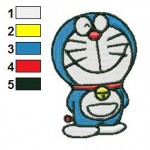 Doraemon 05 Embroidery Design