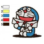 Doraemon 16 Embroidery Design