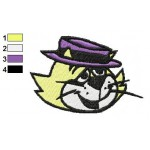 Face Top Cat Embroidery Design