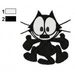 Felix the Cat 02 Embroidery Design