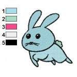 Free Animal for kids Bunny Embroidery Design