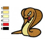 Free Animal for kids Cobra Embroidery Design