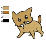 Free Animal for kids Dog Embroidery Design
