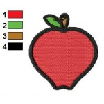 Free Apple 01 Embroidery Designs