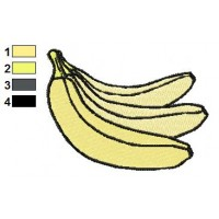 Free Banana Embroidery Designs