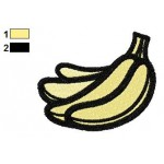 Free Bananas 02 Embroidery Designs