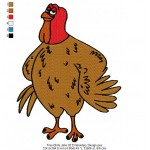 Free Birds Jake 02 Embroidery Design