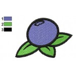 Free Blueberry Embroidery Designs
