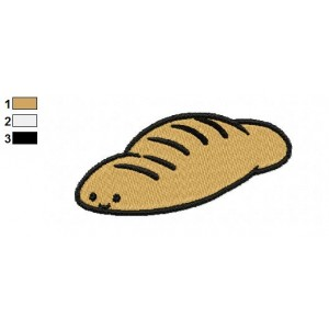 Free Bread Embroidery Designs