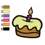 Free Cake 02 Embroidery Designs