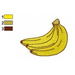 Free Food Banana Embroidery Design