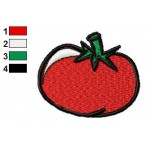 Free Food Tomato Embroidery Design