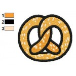 Free Pretzel Embroidery Designs