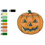 Free Pumpkin 02 Embroidery Design