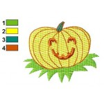 Free Pumpkin 09 Embroidery Design
