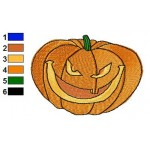 Free Pumpkin 12 Embroidery Design