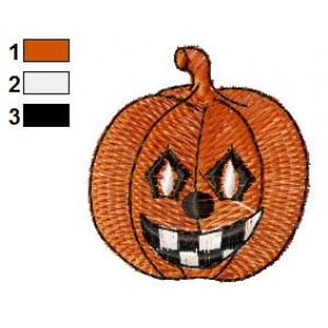 Free Pumpkin 13 Embroidery Design