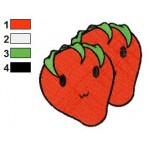 Free Strawberries 02 Embroidery Designs