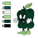 Free Sweet Pepper Funny Veggies Embroidery Design