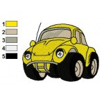 Hussy Disney Cars Embroidery Design