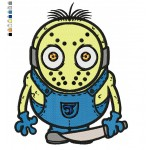 Jason Minion Embroidery Design