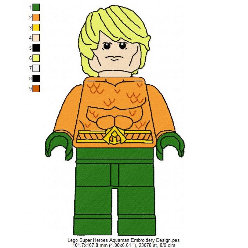 Lego machine embroidery designs