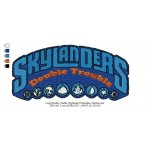 Logo Double Trouble Skylander Embroidery Design