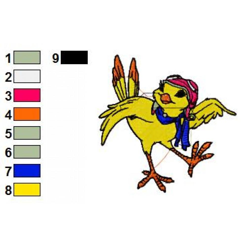 Margalo The Bird Stuart Little Embroidery Design