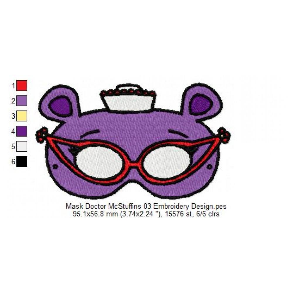 doc mcstuffins machine embroidery designs