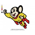 Mighty Mouse 01 Embroidery Design