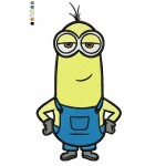 Minion 04 Embroidery Design
