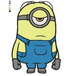 Minion 05 Embroidery Design