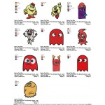 Package 10 Pac Man and The Ghostly Adventures 01 Embroidery Designs
