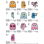 Package 10 Pac Man and The Ghostly Adventures 02 Embroidery Designs