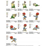 Package 10 Woody Woodpecker 04 Embroidery Designs